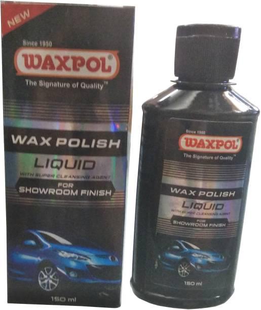 waxpol Liquid Car Polish for Metal Parts, Exterior