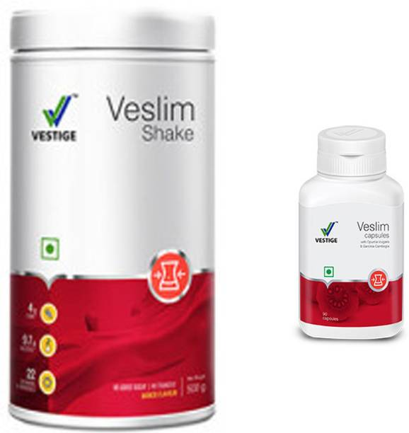 Vestige Veslim Shake and Veslim Capsules slimming solution (650 g)