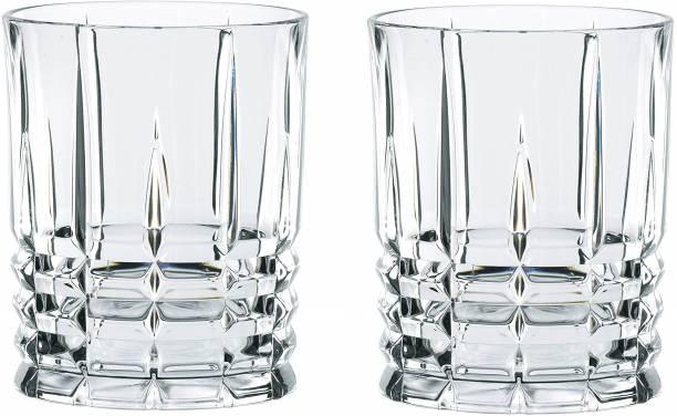 Sajawat House (Pack of 2) Highland Crystal Straight 02 Glass Set