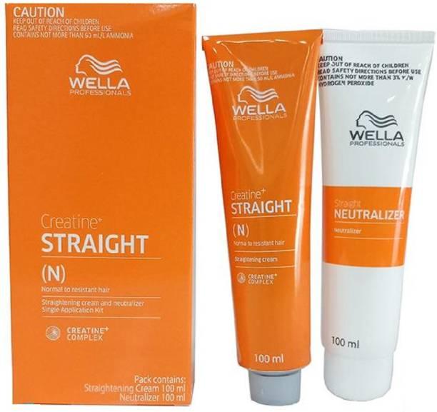 Wella Professionals Professionals Creatine Straight (Straightening Cream And Neutralizer)