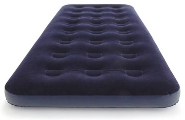 CONTINENTAL Air mattress Flocked Airbed PVC (Polyvinyl Chloride) 1 Seater Inflatable Sofa