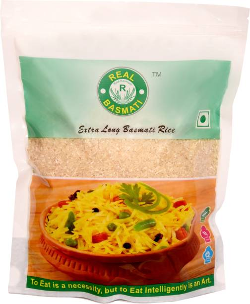 Real Basmati , 1121 Broken Basmati (Pack of 10) Steam Rice (Broken Grain, Steam)