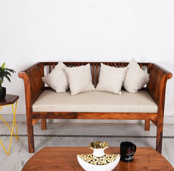 Brilliant Wooden Sofa Buy Wooden Sofa Online At Best Prices In India Gmtry Best Dining Table And Chair Ideas Images Gmtryco