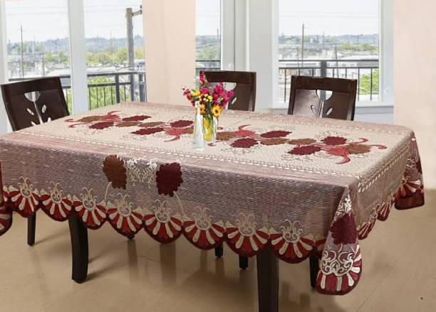 Flavio Interiors Floral 6 Seater Table Cover