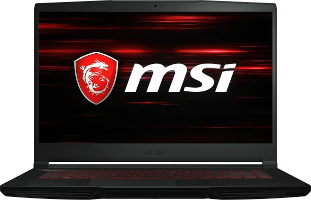 msi GF63 Thin Core i5 10th Gen - (8 GB/512 GB SSD/Windows 10 Home/4 GB Graphics/NVIDIA GeForce GTX 1650 Ti Max-Q) GF63 Thin 10SCSR-463IN Gaming Laptop