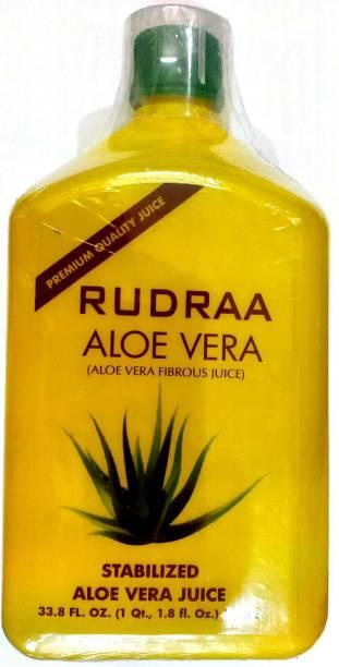 Rudraa ALOE VERA FIBROUS JUICE