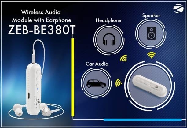Zebronics ZEB BE380T Bluetooth Headset with Mic