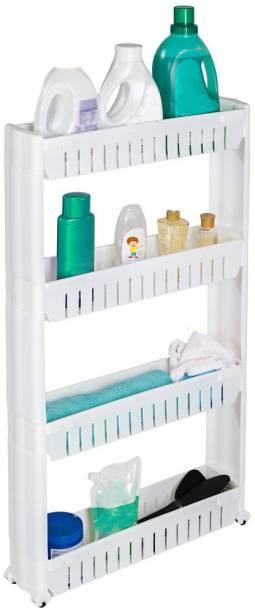 Storage Shelves & Racks Home & Garden Storage Rack Functional Under Cabinet Paper Towel Holder Roll Paper Rack Stainless Metal Kitchen Organizer Pure And Mild Flavor