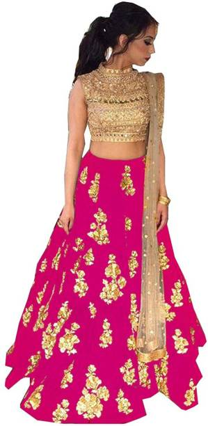 c9fdc8b438fbd6 Crop Top with Lehenga - Buy Crop Top Lehengas online at best prices ...