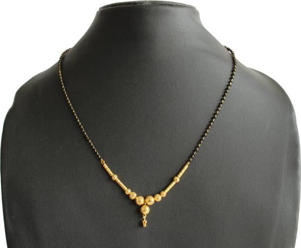 Engagement & Wedding Indian Single Ad American Diamond Fashion Jewelry Mangalsutra Bolllywood Set M-3