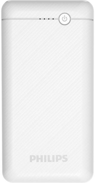 PHILIPS 20000 mAh Power Bank (10 W, Fast Charging)