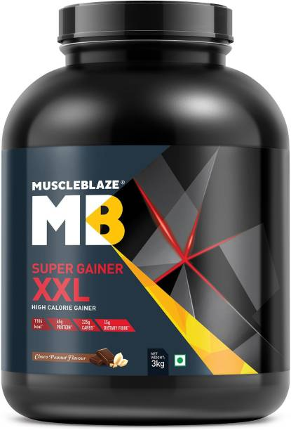 MuscleBlaze Super Gainer XXL Weight Gainers/Mass Gainer... Glucon-D Regular Energy Drink Protinex Mama Nutrition Drink Dabur Pudin Hara Active Pudina Drink