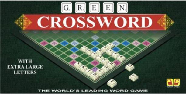 JAYNIL ENTERPRISE Crossword Learning Family Entertainment Puzzle Game Word Games Board Game