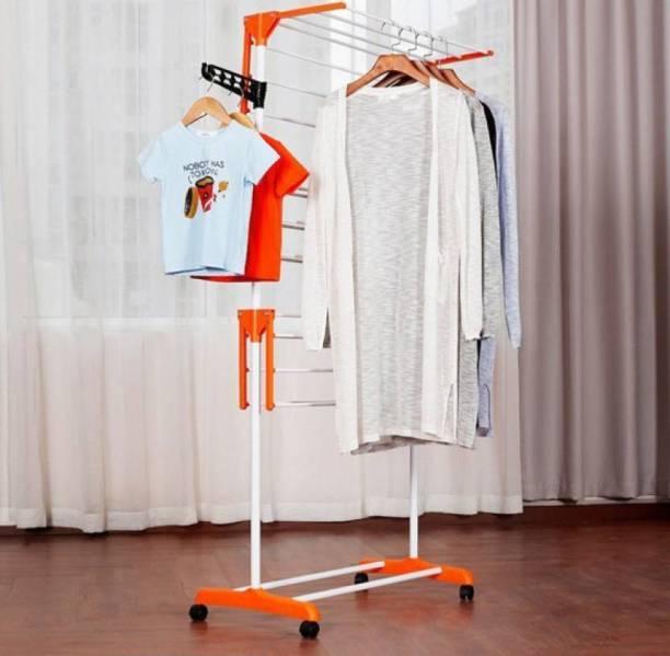 TNC Steel Floor Cloth Dryer Stand N00011