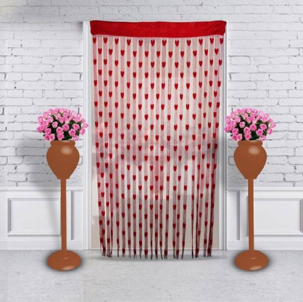 Home Expert 183 cm (6 ft) Tissue Window & Door Curtain Single Curtain