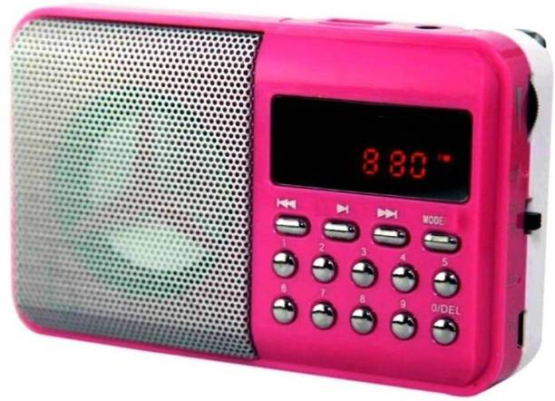 CRETO BT- SM71 Radio Fm Support AUX, USB Pen-drive & Memory Card FM Radio