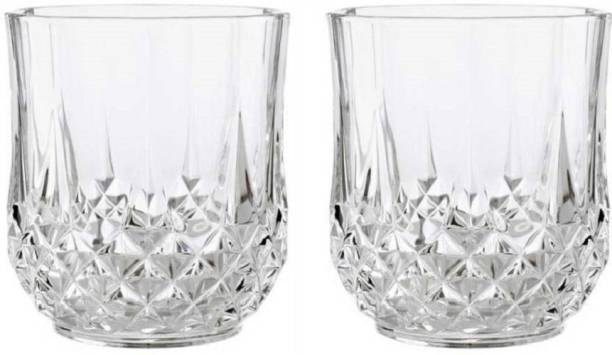 Sajawat House (Pack of 2) Clear Crystal WD310002 glass Glass Set
