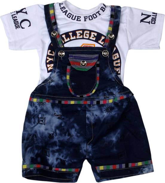 bb6372898 Baby Jumpsuits - Buy Baby Boys Dungarees & Jumpsuits Online At Best ...