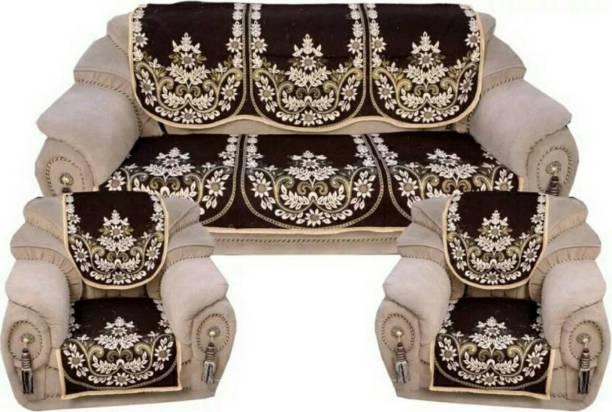 Dushanj Furnishings Jacquard Sofa Cover