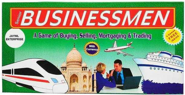 JAYNIL ENTERPRISE Game with Plastic Money Coins Money & Assets Games Board Game