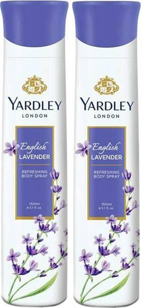 Yardley London English Lavender Deodorant Spray  -  For Women