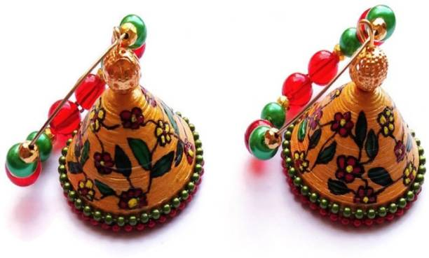 Quilling Jhumkas Buy Quilling Jhumkas Online At Best Prices In