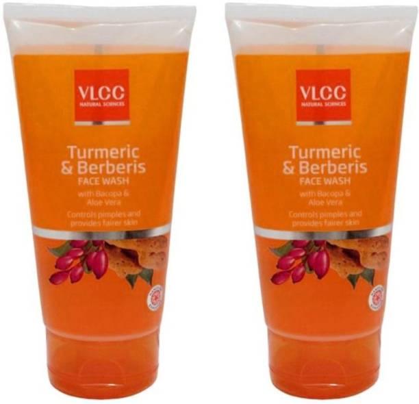 VLCC Turmeric & Berberis Epic Combo  (300 ml) Face Wash