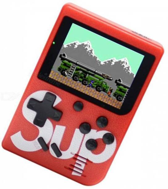 blue seed SUP 400 in 1 Retro Game Box Console Handheld Video Game a2 with ideal for Children,adults/8 GB 8 GB with Mario/Super Mario/DR Mario/Contra/Turtles and other 400 Games