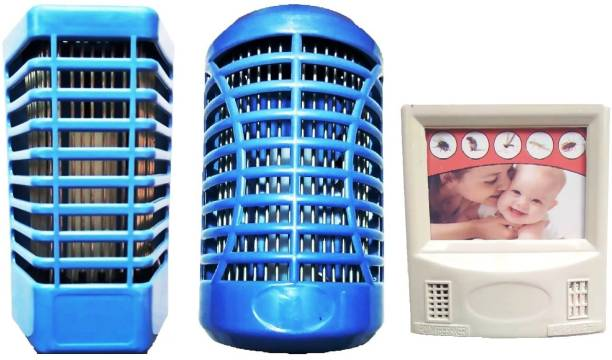KTHC Ultrasonic Pest repeller and Electric Insect killer with night lamp