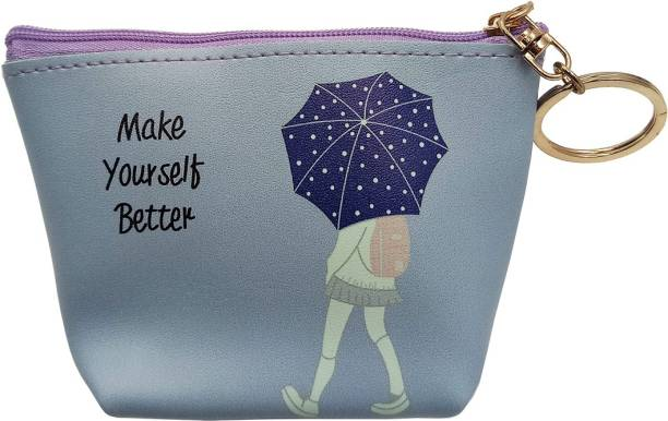 332ceade60a BANDICOOT LONDON-MAKE YOURSELF BETTER BLU COIN PURSE AND POTLI Coin Purse