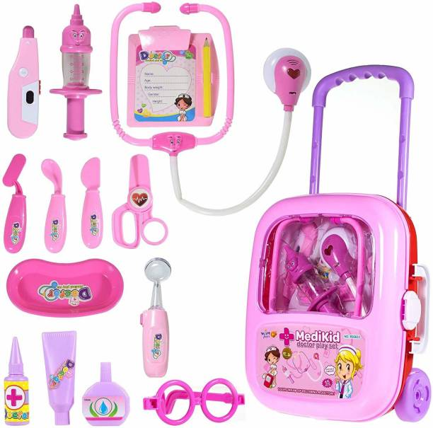 SAM latest Doctor Play Set With Trolly Suitcase, Premium Quality
