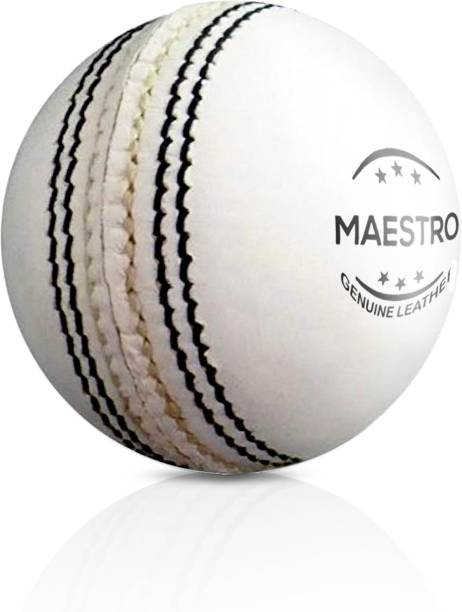 Adrenex by Flipkart Maestro 2 panel White Cricket Leather ball
