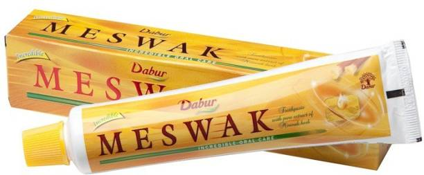 Dabur Miswak Herbal Toothpaste With Pure Miswak Extract 120G+50G Toothpaste