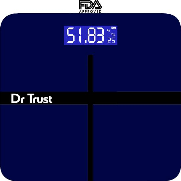 8337f21cb Dr. Trust (USA) Executive Rechargeable Digital Weighing Scale Electronic Weight  Machine For Human