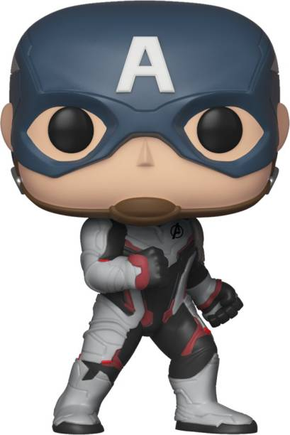 f47726f5d51 Funko Avengers End Game (Infinity War 2) - Captain America in Team Suit Pop