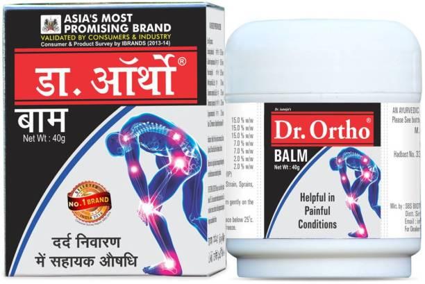 Dr. Ortho Balm 40gm, 100% Ayurvedic Balm