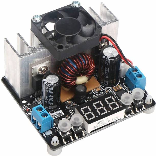 REES52 DC 12V 24V NC Step Down Voltage Regulator 8A Numerical Control Buck Converter Timer Counter and Clock Electronic Hobby Kit