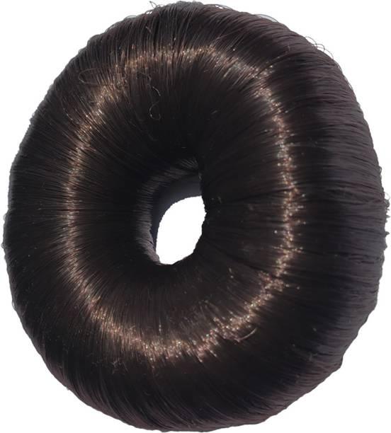 JAGTEK Hot Women Synthetic Fiber Hair Bun Donuts Ring Blonde Hair Extension Wig Bun
