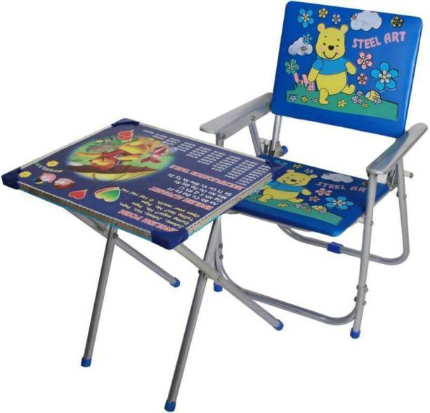 Taaza Garam Kids Table & Chair And Study for Multipurpose for kids Gift Toy Solid wood Desk Chair