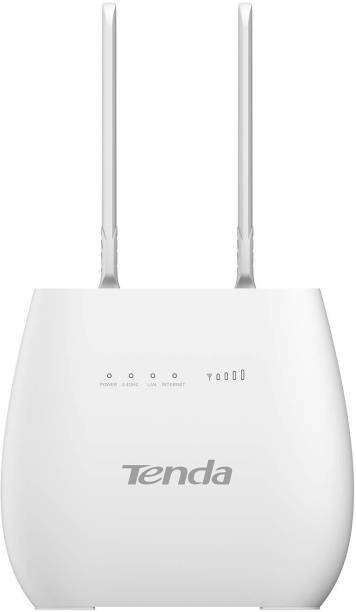 TENDA 4G680V2.0 3G/4G 300Mbps Wireless 4G LTE and VoLTE (Not a Modem) 300 Mbps 4G Router