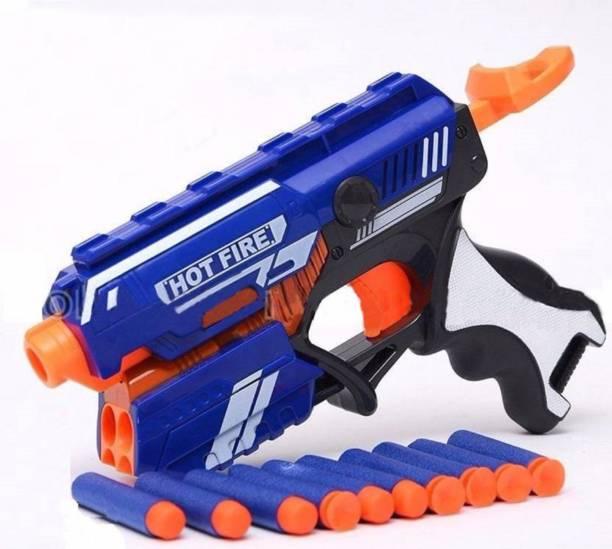A R ENTERPRISES Toy Gun With 10 Safe Darts For Kids Guns & Darts