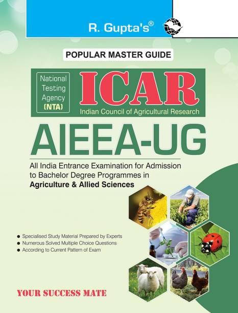 Nta-Icar - AIEEA-UG Entrance Exam Guide