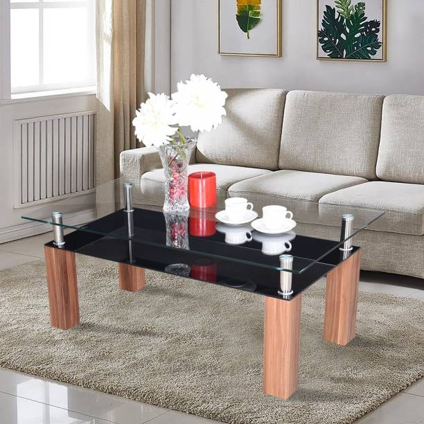 RoyalOak Beat Glass Coffee Table