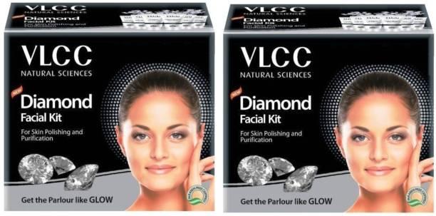 VLCC Diamond Facial kit Pack of 2 120g