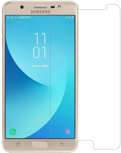 kmPPoWeR Tempered Glass Guard for Samsung Galaxy J7 Max