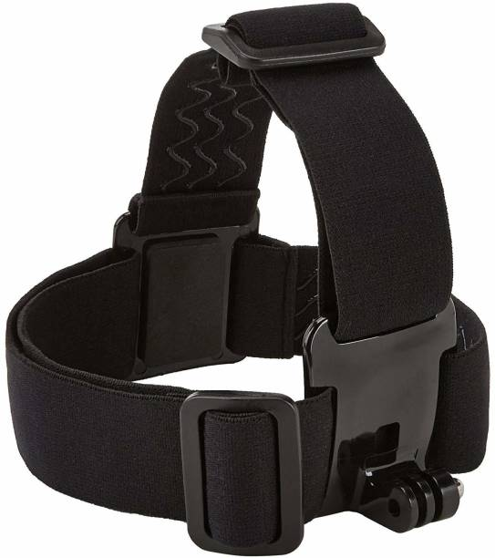 Techlife Solutions Head Strap Camera Mount for GoPro Xiaoyi SJCAM and all action cameras Head Strap
