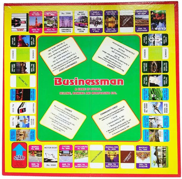 JAYNIL ENTERPRISE Family Entertainment Indian Business Board Game Money & Assets Games Board Game