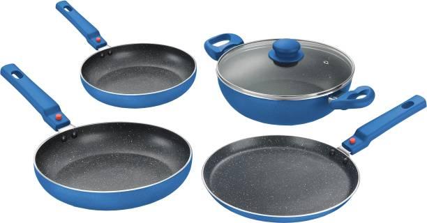 Prestige Omega Festival Pack Build Your Kitchen 4 Pcs Induction Bottom Cookware Set