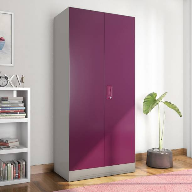 7f4e1530f Godrej Interio Slimline 2 Door With Locker Metal Almirah