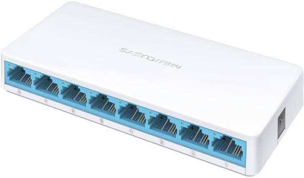 Mercusys MS108 8-Port 10/100Mbps Ethernet Network Desktop Network Switch